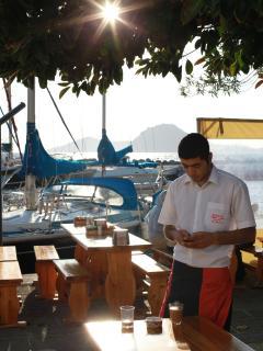 Local Marina side restaurant