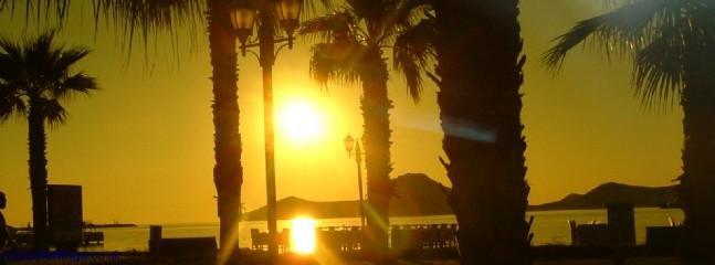 SUNSET IN YALIKAVAK