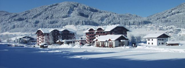 Sport Hotel in winter clothing