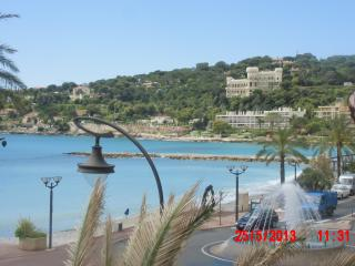 French Riviera:grand studio+terrasse vue mer