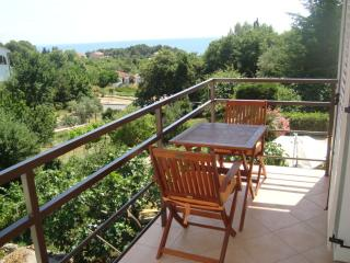 Apartment with a bbq terrace in Krk