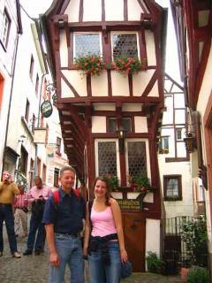 Timbered house in Bernkastel-Kues - Fachwerkhaus in Bernkastel-Kues