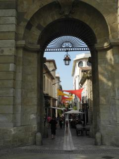 Entrance to the Bastide