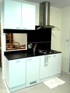 part of kitchen area