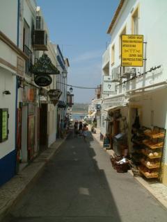 Typical Alvor Street