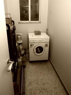 Laundry & storage room