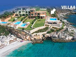 Villa 4 consists of the 2-Floor House & the Waterfront Residence Suite,sharing private pool & garden