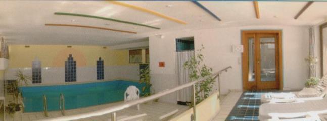 Free indoor pool & sauna