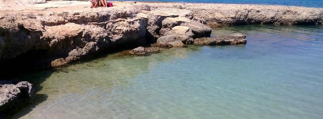 Or if you prefer a rocky one with calm and crystal clear water for swimming