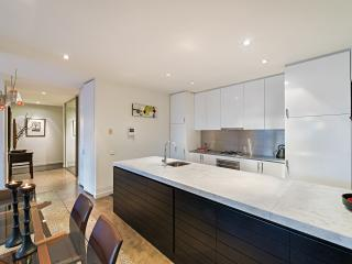The fully equipped designer kitchen