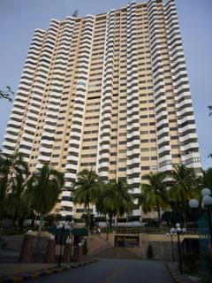 Sri Sayang view to the top