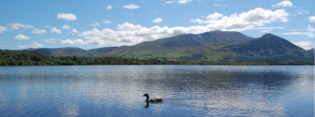 The magnificent view across Bassenthwaite Lake