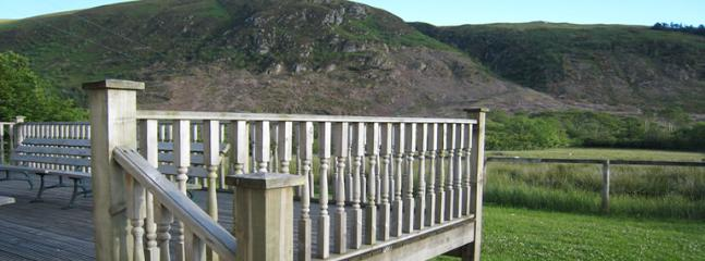 The South-Facing Deck with beautiful fell views