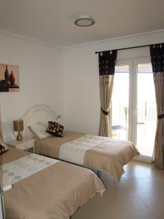 Master Bedroom with en suite and access to the large balcony