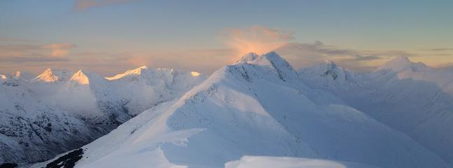 Kintail in the snow