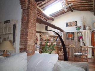 nei boschi eterni della Toscana casa d`artista