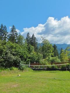 Badminton lawn
