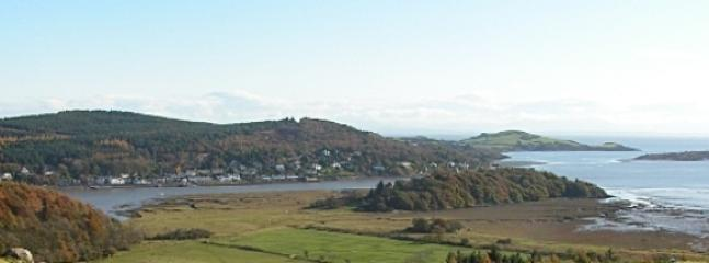 Kippford is set in a National Scenic Area. This is the view from screel