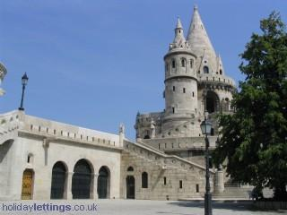 Fisherman Bastion in castle hill (15 min.walk-uphill)