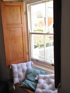Sunny, yet cosy window seat
