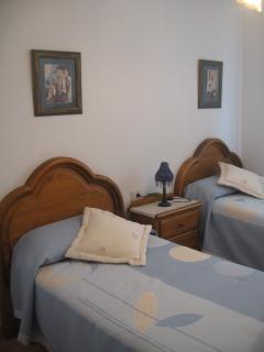 Dormitorio. 2 camas