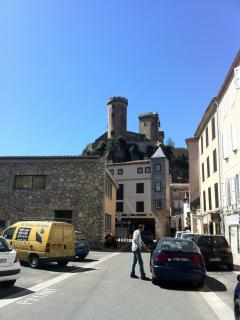 Ancient town of Foix and Foix Castle. 20 minutes drive from house