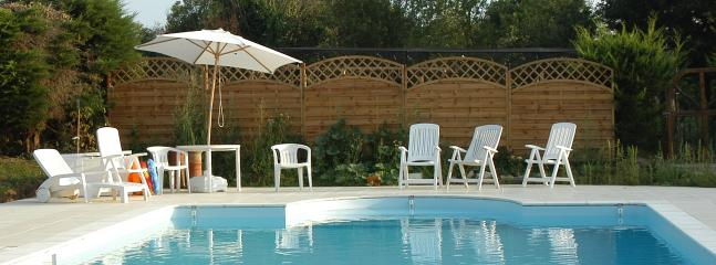 Lounge by the large heated pool, or bring your inflatables for family fun!