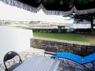 Très bel appartement, rez de chaussée, vue sur la mer, Ploemeur