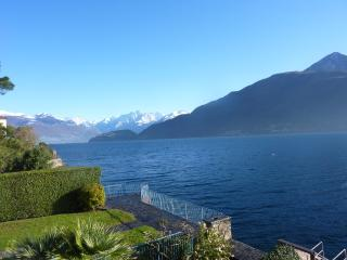 Clear visibility and snow-capped Alpine Peaks can be enjoyed in the off season (view: top terrace)