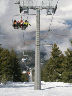 Modern Doppelmayer chair lifts