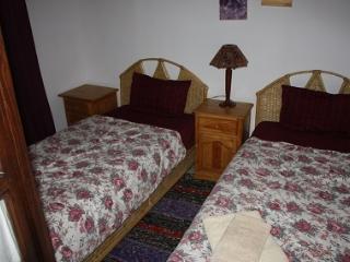 sleeping with 2 single beds
