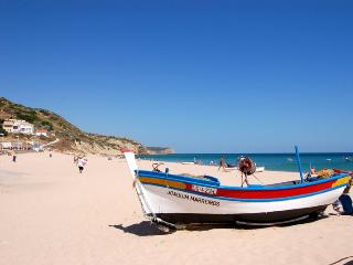 Burgau beach 6 min walk from apartment