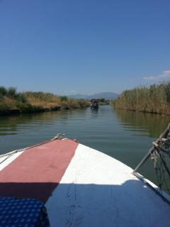 water taxi from calis to fethiye, runs every half hour 9am - midnight daily.