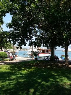 park and gardens at fethiye harbour