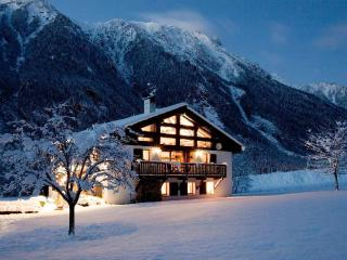 Chalet Tissieres winter in holiday in Chamonix