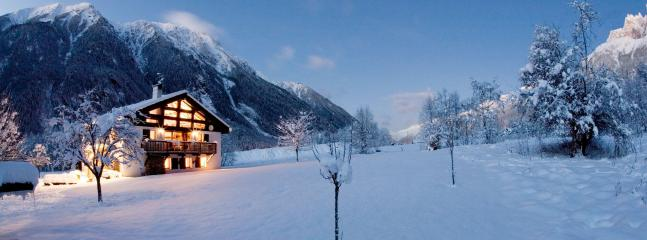 winter in the Chamonix valley