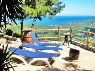 Appartamento blu terrazza vista mare, Rio Nell'Elba