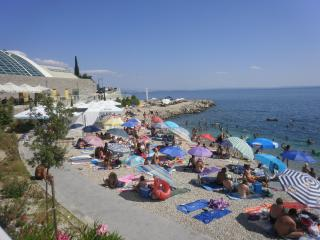 Croatie, baie de Kvarner, a louer appart. vacances
