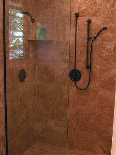 Regular and European shower