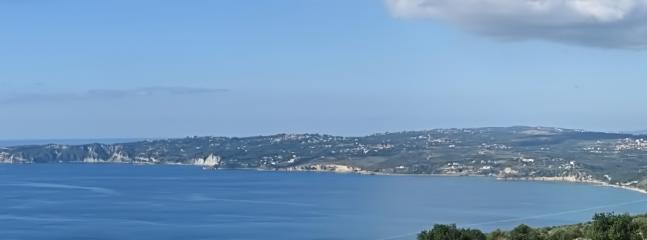 Lourdas Bay with extensive beaches