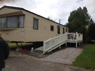 whilerby 2 bed caravan on haven blackpool, Fleetwood
