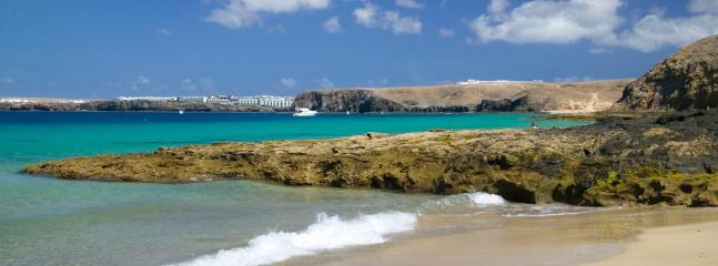 One of the fabulous beaches on Lanzarote
