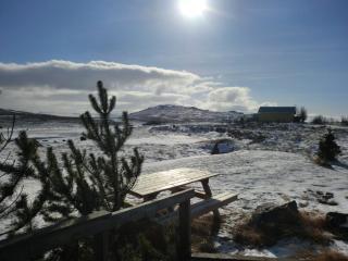 Við-Bót riverside cottage/ Gula húsið, Eidar