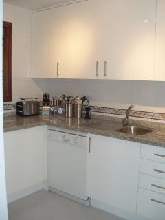 Spacious Kitchen including dishwasher