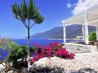 Breathtaking Sea View Villa, private terrace beach, Kas