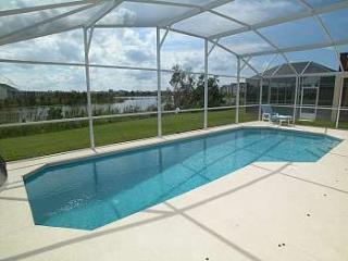 Fantastic south facing pool with lake view