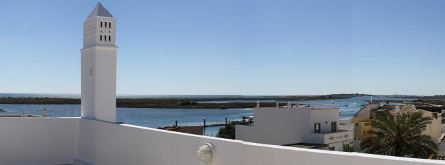 Part of view from the roof terrace (right half of panorama)