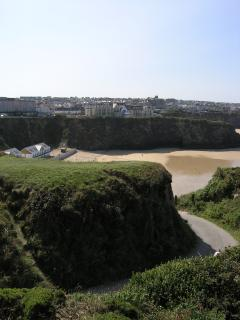 View across Newquay