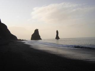 Gardar 1 on Reynisfjara beach, Vik