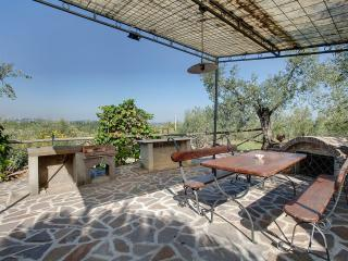 Farmhouse close to Florence, 2 bedrooms, shared outdoor pool, brilliant views